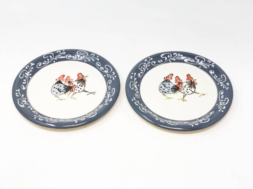 Verano-Spanish-Ceramics-Farmhouse-Set-of-2-Side-Plates-2