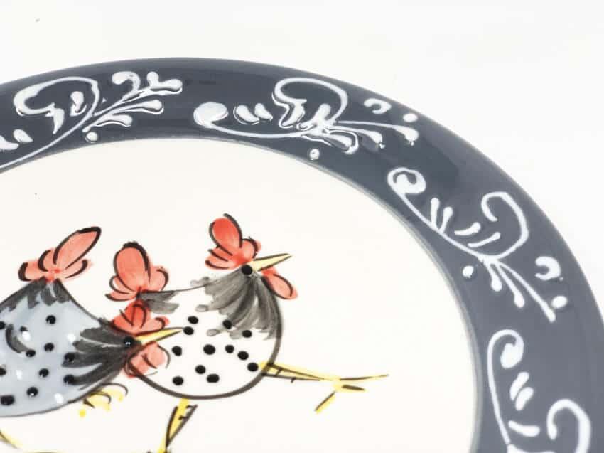 Verano-Spanish-Ceramics-Farmhouse-Set-of-2-Side-Plates-3