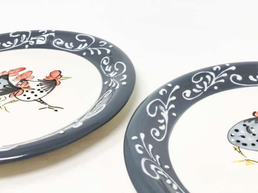 Verano-Spanish-Ceramics-Farmhouse-Set-of-2-Side-Plates-4