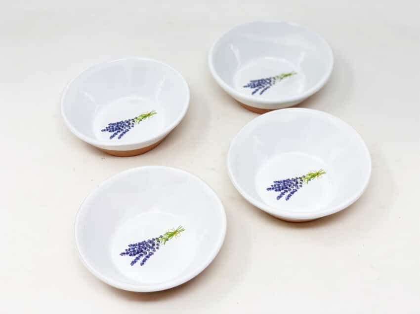 Lavender - Set Of 4 Small Tapas Bowls