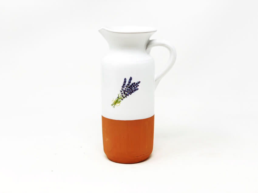 Verano-Spanish-Ceramics-Lavender-Jugs-&-Bottles-1