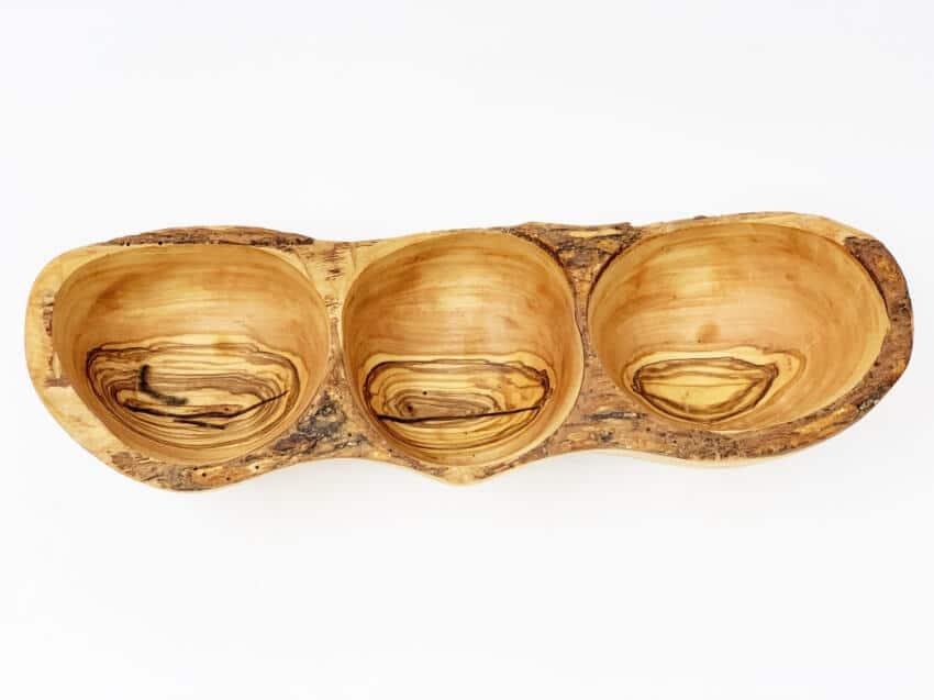 Verano-Spanish-Ceramics-Olive-Wood-3-Section-Snack-Boat-3