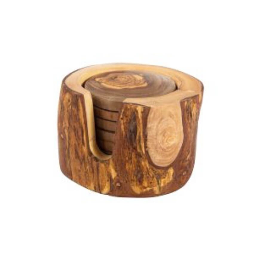 Verano-Spanish-Ceramics-Olive-Wood-Rustic-Coasters-4