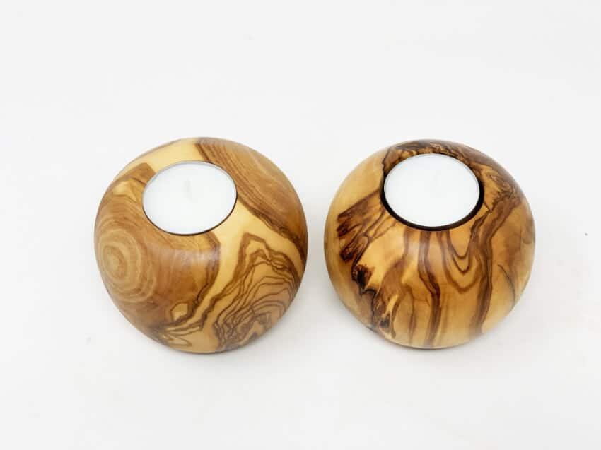 Verano-Spanish-Ceramics-Olive-Wood-Tea-Light-Candle-Holders-Set-of-2-2