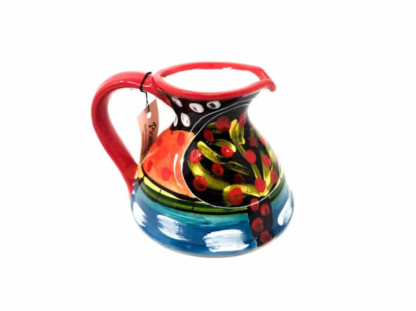 Verano-Spanish-Ceramics-Picasso-Flat-Based-Jug-2