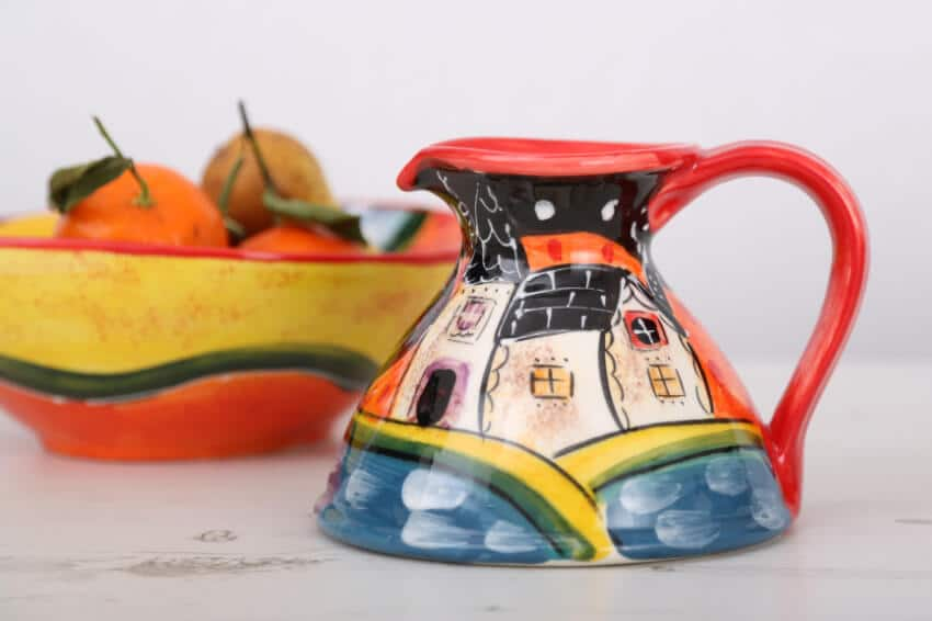 Verano-Spanish-Ceramics-Picasso-Flat-Based-Jug-Lr-1