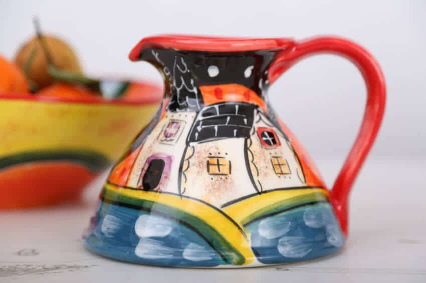 Verano-Spanish-Ceramics-Picasso-Flat-Based-Jug-Lr-2