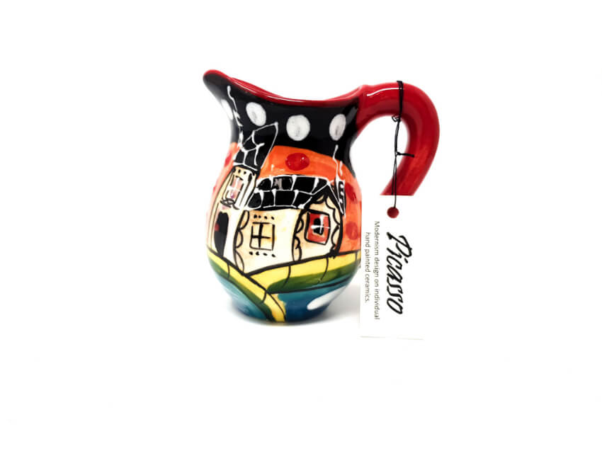 Verano Spanish Ceramics Picasso Mini Jug 3 1