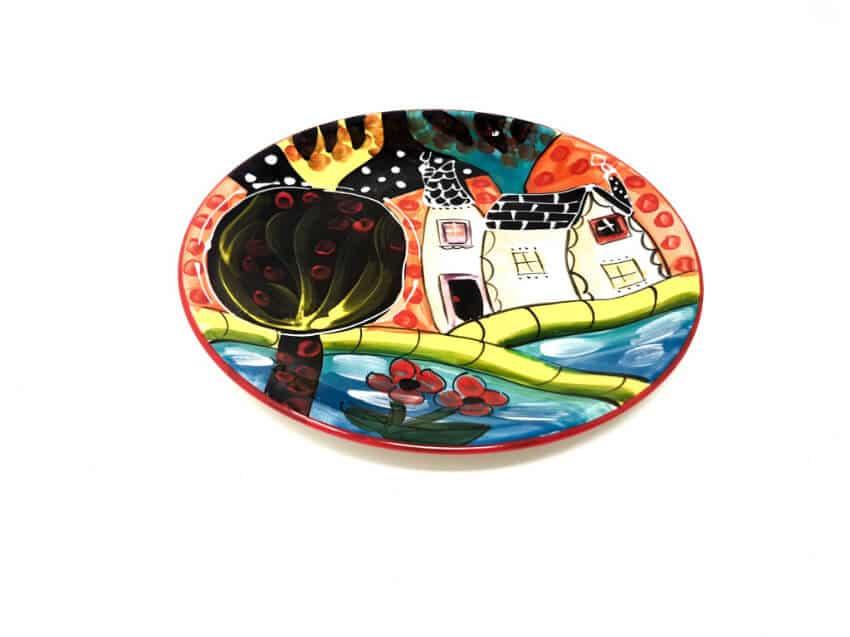Verano Spanish Ceramics Picasso Plate 1 1