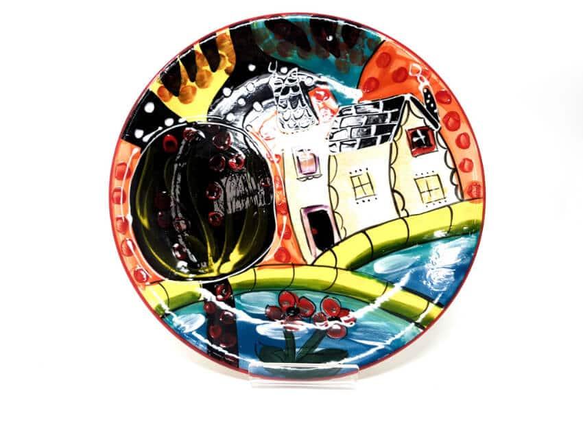 Verano Spanish Ceramics Picasso Plate 2 1