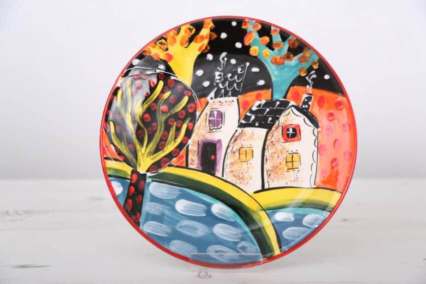 Verano Spanish Ceramics Picasso Plate Lr 2 1
