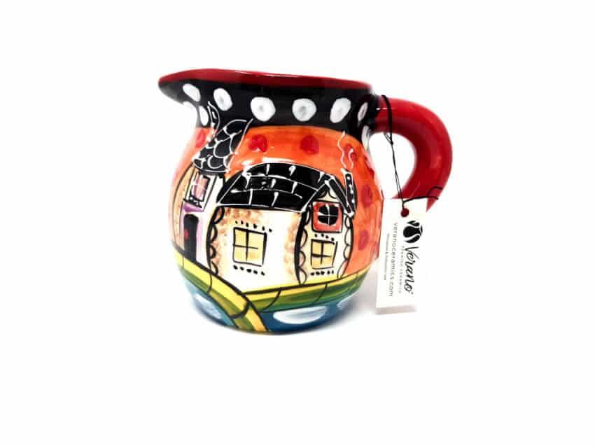 Verano Spanish Ceramics Picasso Round Jug 3 1