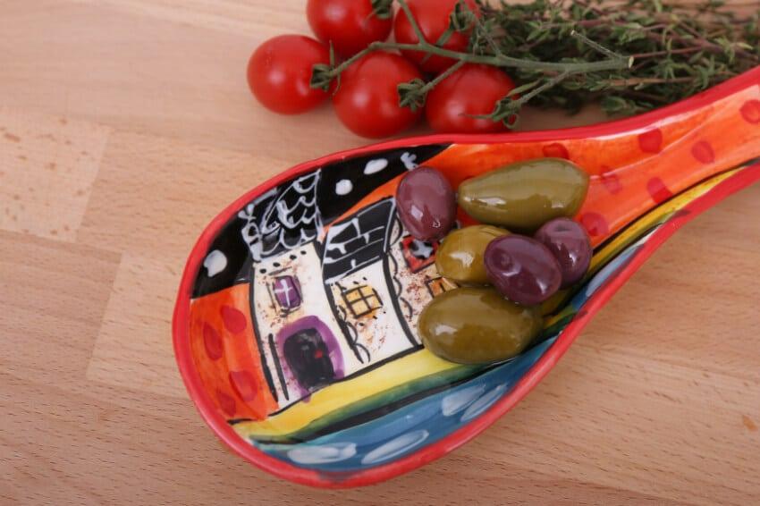 Verano-Spanish-Ceramics-Picasso-Spoon-Rest-Lr-1