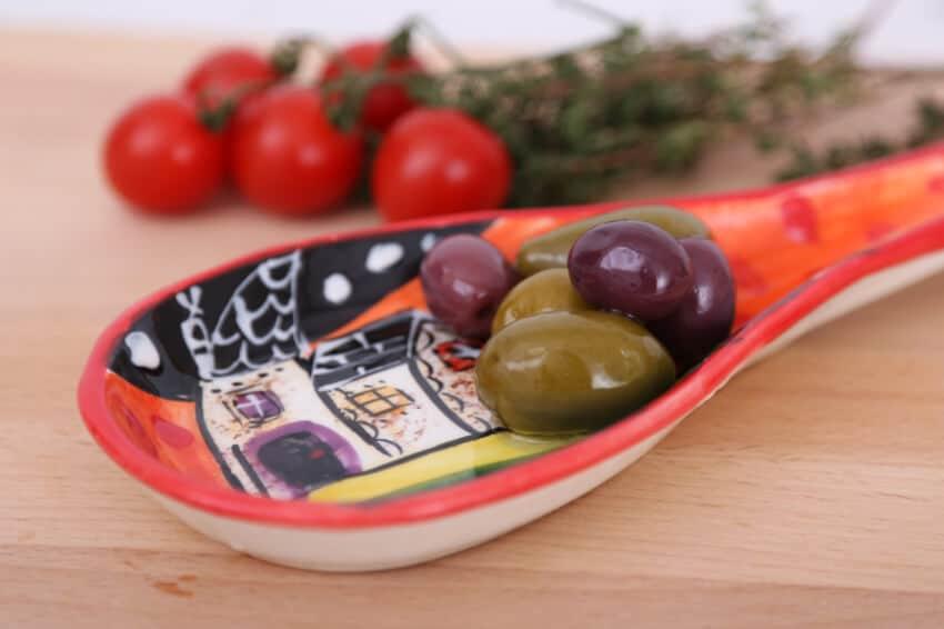 Verano-Spanish-Ceramics-Picasso-Spoon-Rest-Lr-2