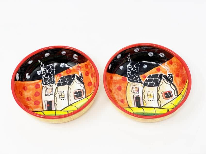 Picasso - Sets Of 2 Shallow Tapas Bowls