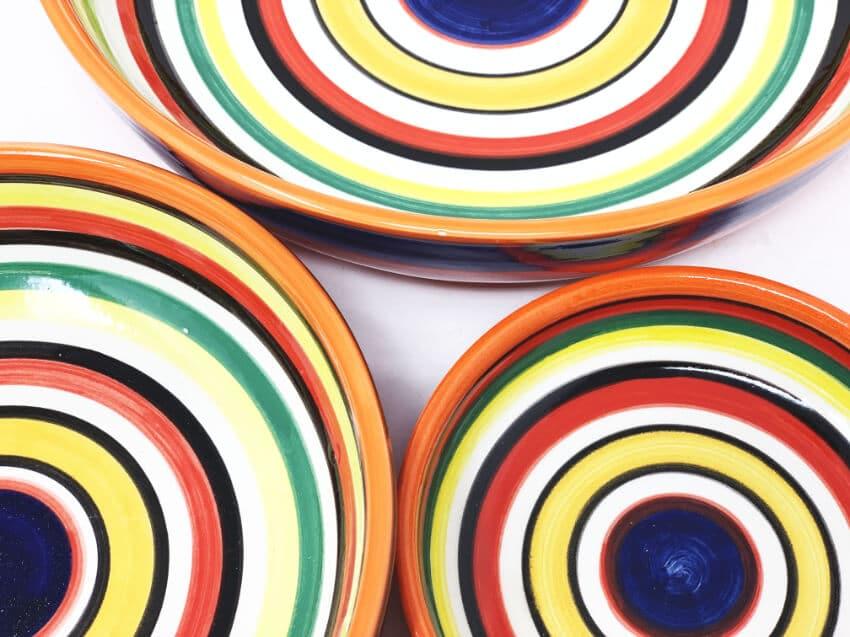 Rayas - Shallow Bowls