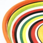 Verano-Spanish-Ceramics-Rayas-Shallow-Large-Shallow-Bowl-23cm-1