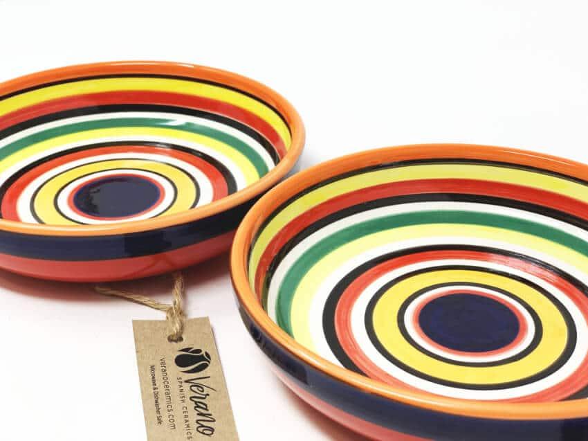 Verano-Spanish-Ceramics-Rayas-Shallow-Large-Shallow-Bowl-23cm-1.jpg-1
