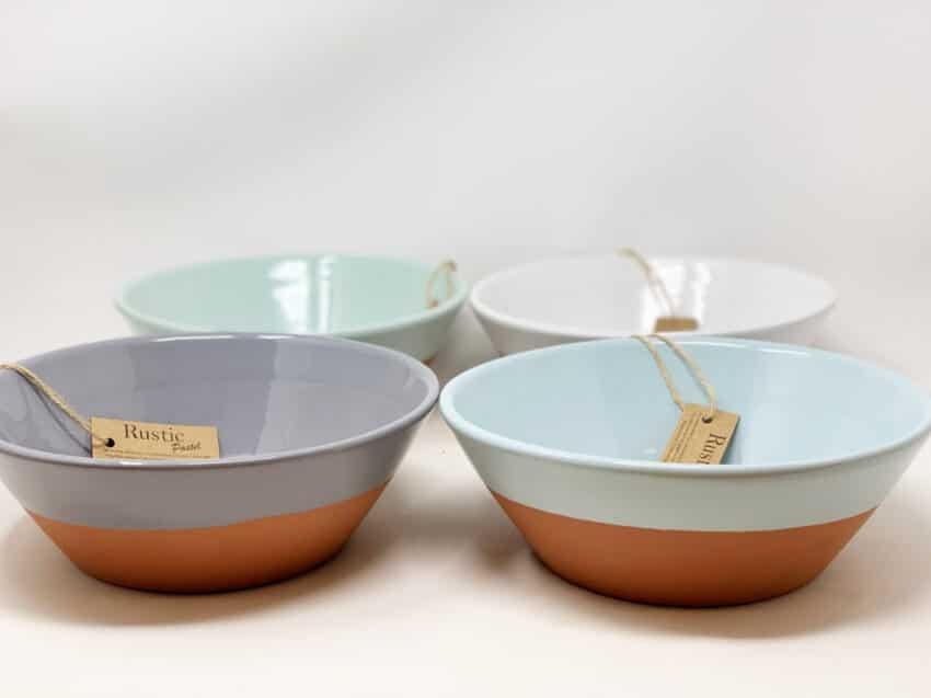 Verano-Spanish-Ceramics-Rustic-Pastel-23Cm-Large-Bowls-4