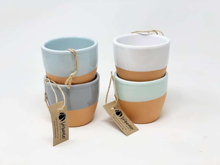Verano-Spanish-Ceramics-Rustic-Pastel-9Cm-Herb-Pots-3