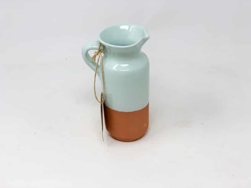 Verano-Spanish-Ceramics-Rustic-Pastel-Bottle-Jug-Half-Dipped-1