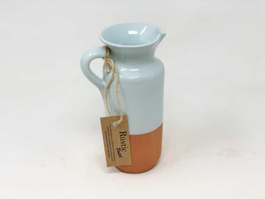 Verano-Spanish-Ceramics-Rustic-Pastel-Bottle-Jug-Half-Dipped-3