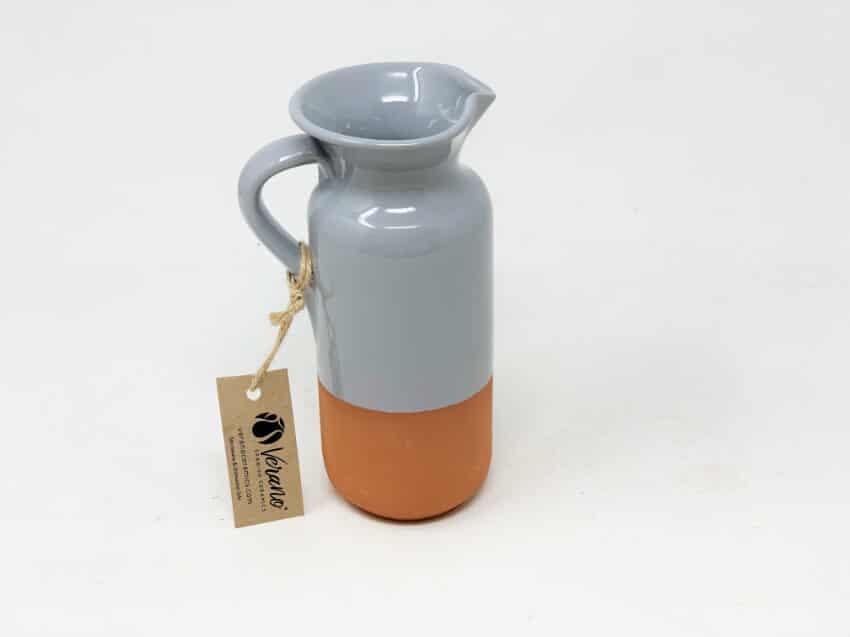 Verano-Spanish-Ceramics-Rustic-Pastel-Bottle-Jug-Half-Dipped-4