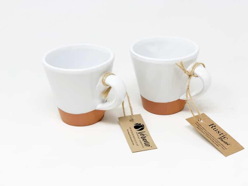 Verano-Spanish-Ceramics-Rustic-Pastel-Conical-Mug-Half-Dipped-2