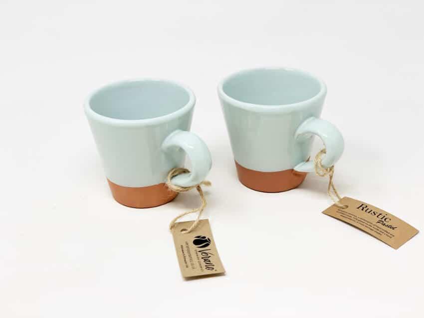 Verano-Spanish-Ceramics-Rustic-Pastel-Conical-Mug-Half-Dipped-3