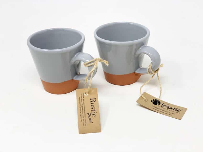 Verano-Spanish-Ceramics-Rustic-Pastel-Conical-Mug-Half-Dipped-4