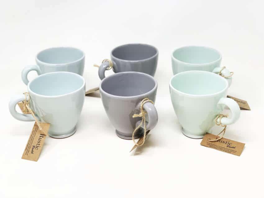 Verano Spanish Ceramics Rustic Pastel Everyday Mug Fully Dipped 5