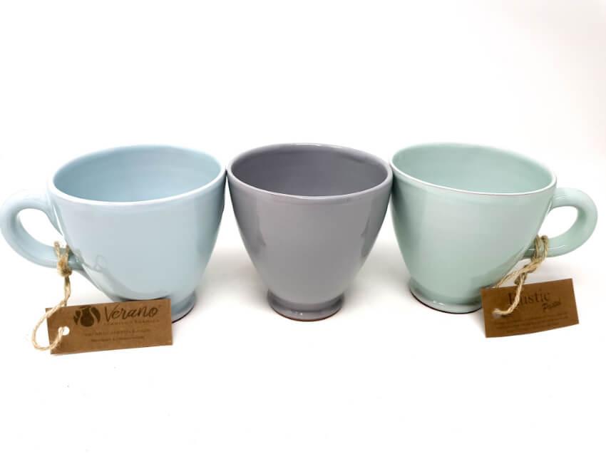 Verano Spanish Ceramics Rustic Pastel Everyday Mug Fully Dipped 9
