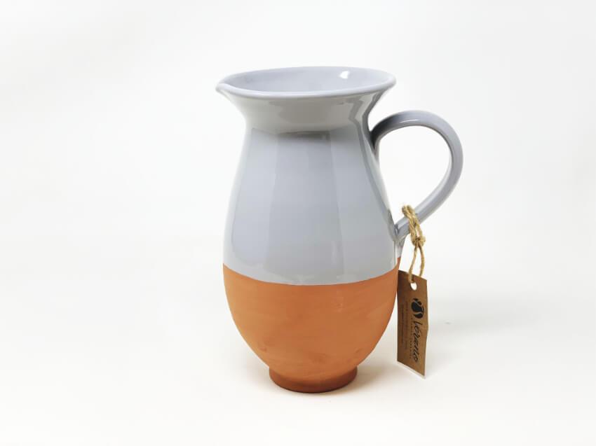 Verano-Spanish-Ceramics-Rustic-Pastel-Large-Jug-3