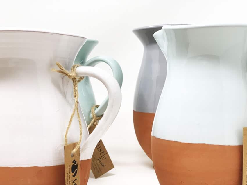 Verano-Spanish-Ceramics-Rustic-Pastel-Large-Jug-7