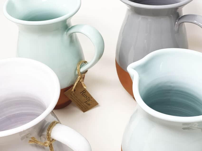 Verano-Spanish-Ceramics-Rustic-Pastel-Large-Jug-8