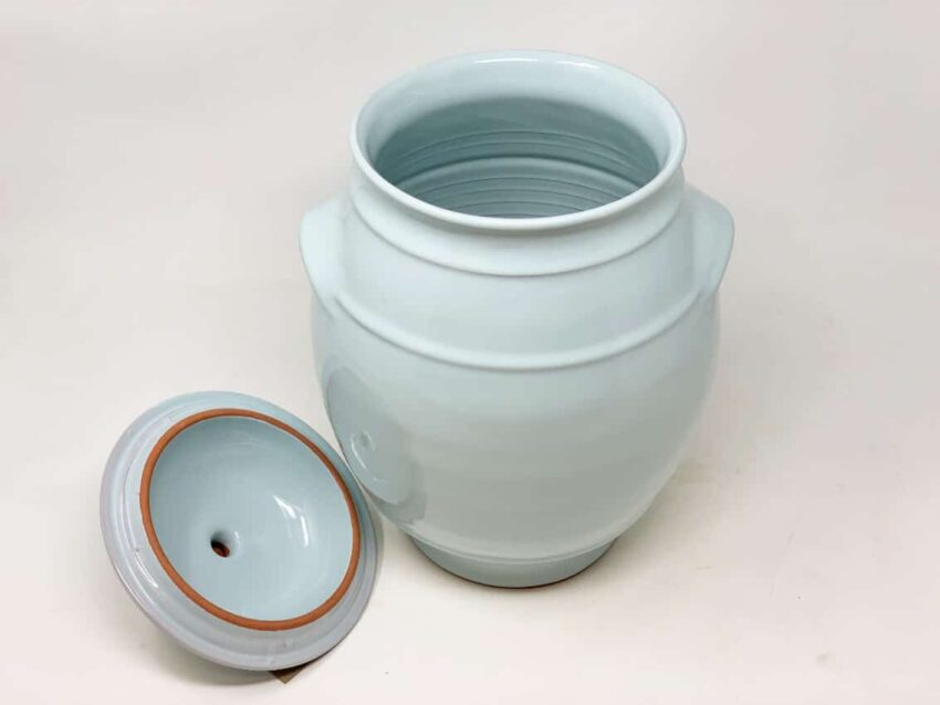 Verano-Spanish-Ceramics-Rustic-Pastel-Large-Storage-Jar-Duck-Egg-Blue-2