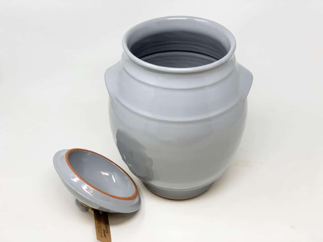 Verano-Spanish-Ceramics-Rustic-Pastel-Large-Storage-Jar-Grey-2