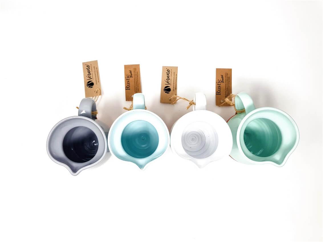 Verano-Spanish-Ceramics-Rustic-Pastel-Mini-Jug-Group-Overhead