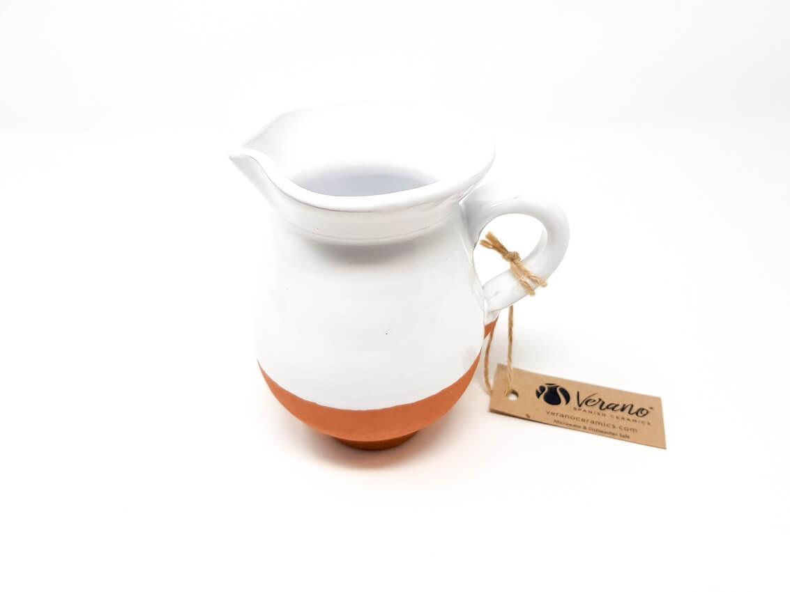 Verano-Spanish-Ceramics-Rustic-Pastel-Mini-Jug-White-2