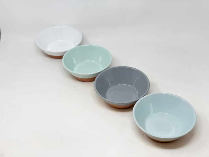 Verano-Spanish-Ceramics-Rustic-Pastel-Set-of-4-Tapas-Bowls-Half-Dipped-4