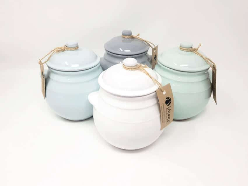Storage Jar With Lid (Fully Dipped)