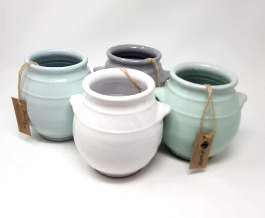 Rustic Pastel - Utensil Jar (Fully Dipped)