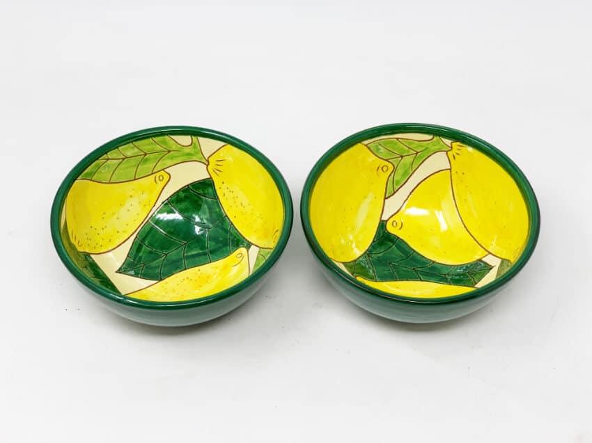 Signature - Lemons - Set Of 2 Appetiser Bowls