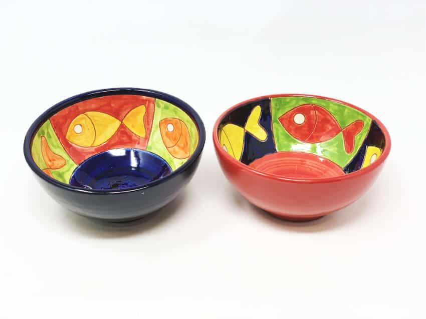 Signature - Big Fish - Set Of 2 Appetizer Bowls