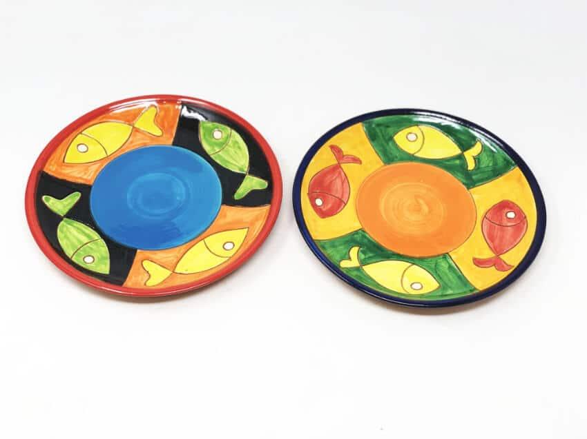 Signature - Big Fish - Set Of 2 Small Plates