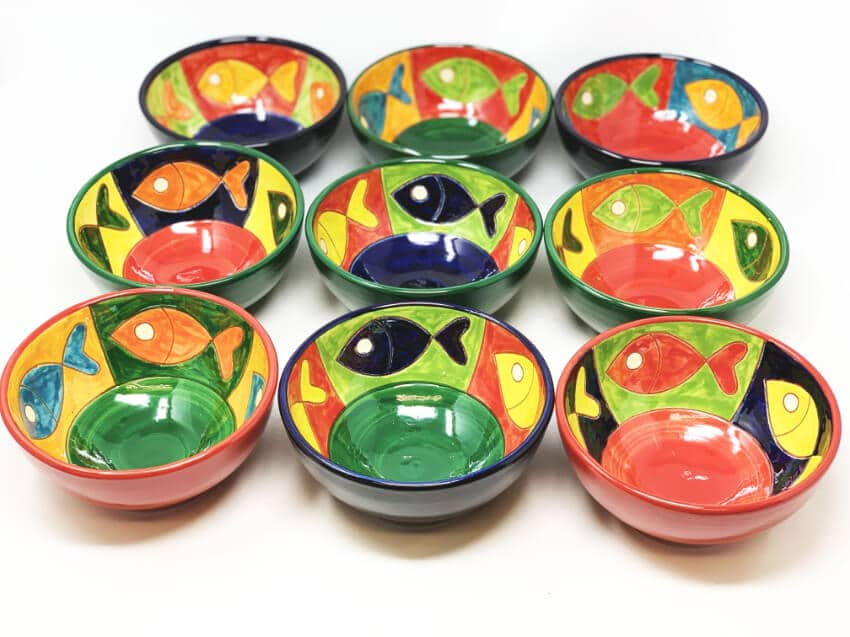 Signature - Big Fish - Set Of 6 X 12Cm Tapas Bowl