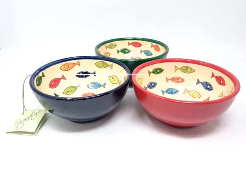 Verano Spanish Ceramics Signature Coloured Appetiser Bowls Group 1 1