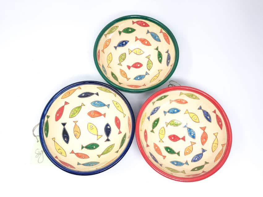 Verano Spanish Ceramics Signature Coloured Appetiser Bowls Group 2