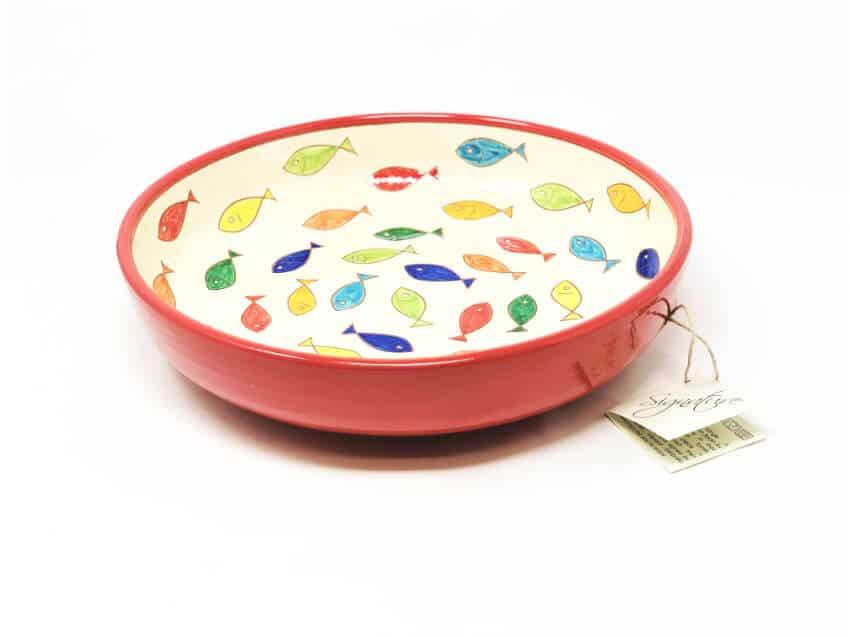 Signature - Coloured Fish - Large Bowl