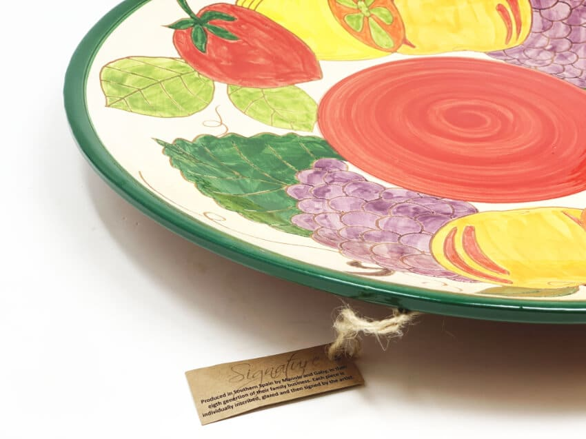 Verano-Spanish-Ceramics-Signature-Fruits-Platter-2